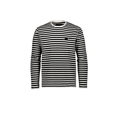 Makia Verkstad Long Sleeve White/Black