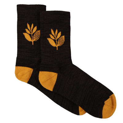 Magenta Plant Sox Black/Orange