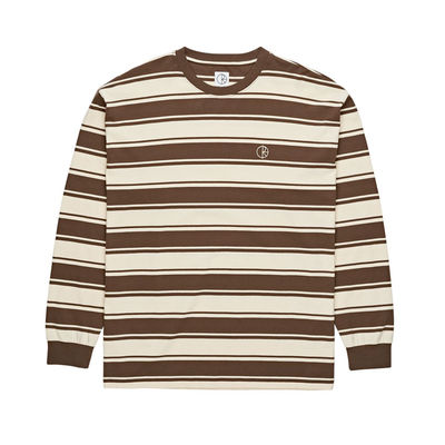 Polar Skate Co. Tilda Longsleeve Brown/ Cream