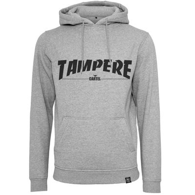 Cartel Tampere Hood Light Grey Slim