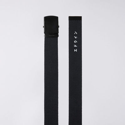 Edwin Webbing Belt Black