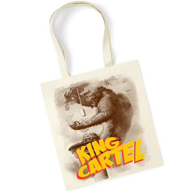 King Cartel Tote Bag Natural