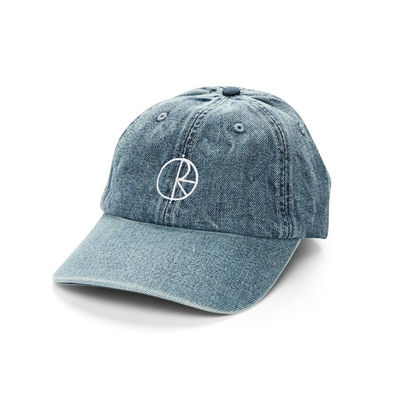Polar Skate Co. Denim Cap Blue