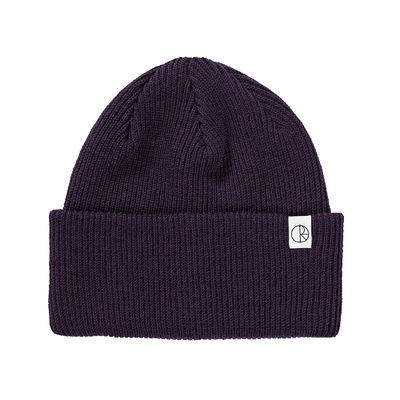 Polar Skate Co. Merino Wool Beanie Dark Purple