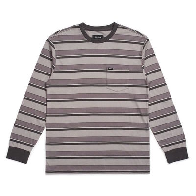 Brixton Hilt L/S Pocket Charcoal