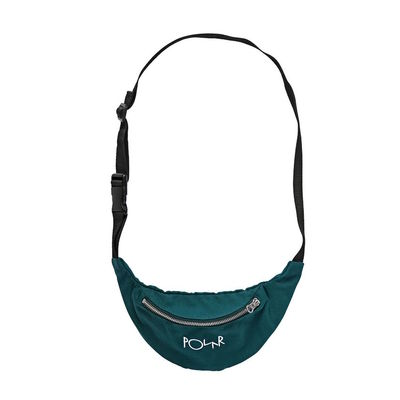 Polar Skate Co. Script Logo Hipbag Dark Green