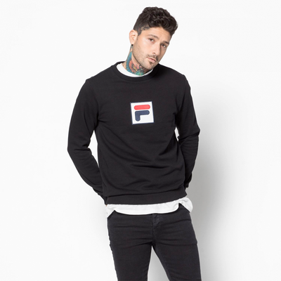 Fila Rian Crew Sweat Black