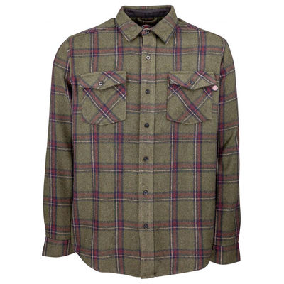Independent Chainsaw Shirt Military Plaid
