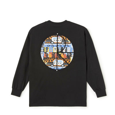Polar Skate Co. ACAB Fill Logo Longsleeve Black