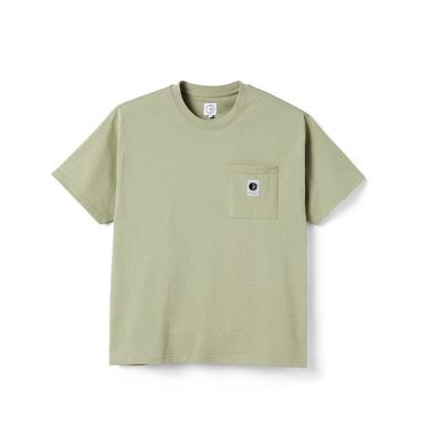 Polar Skate Co. Pocket Tee Smoke