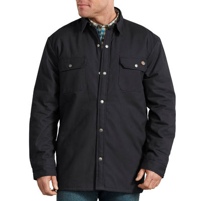 Dickies Lined Shirt Black