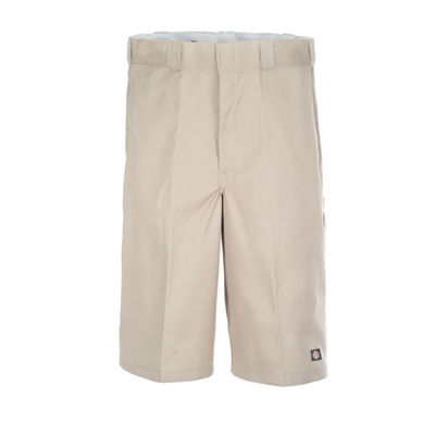 "Dickies 13"" Loose Fit Multi-Use Pocket Work Shorts Khaki"