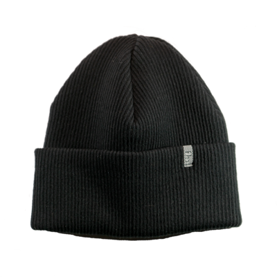 El Rio Grind Shred Cotton Beanie Black