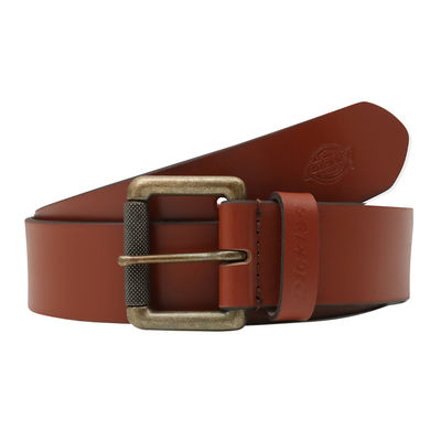 Dickies South Shore Leather Belt Brown