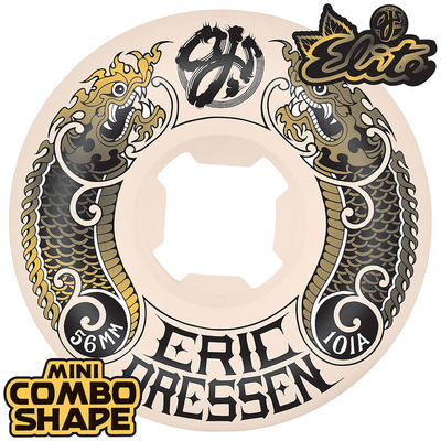 OJ Wheels Elite Dressen Dragon Mini Combo 101a White 56 MM