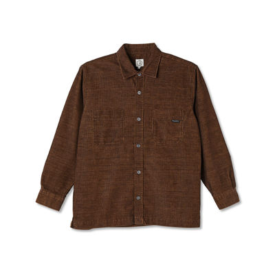 Polar Skate Co. Cord Shirt Caramel