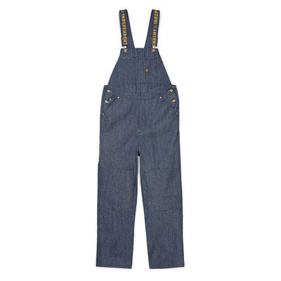Brixton x Independent Yard Denim Overall Raw Indigo