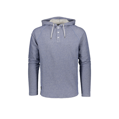 Makia Henley Hooded Sweatshirt