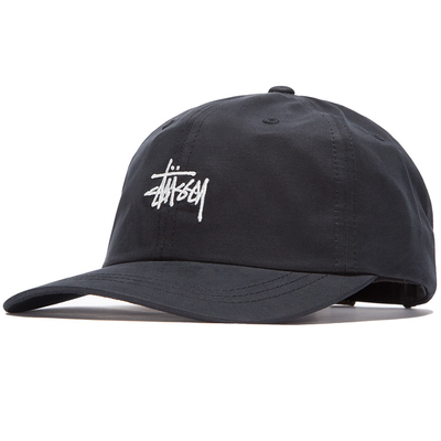 Stüssy Stock Low Pro Cap Black
