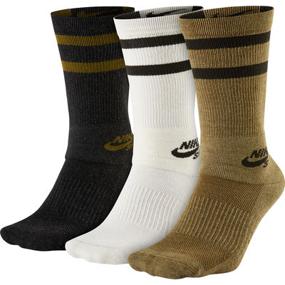 Nike SB Crew Sock Multi Color 3 Pack