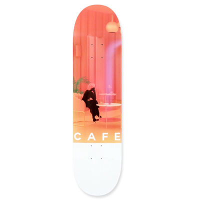 "Skateboard Cafe 8.125"" Unexpected Beauty Pink"