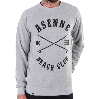 Asenne Beach Club Crewneck Grey