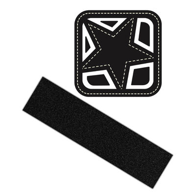 Shortys Black Magic Griptape 9""