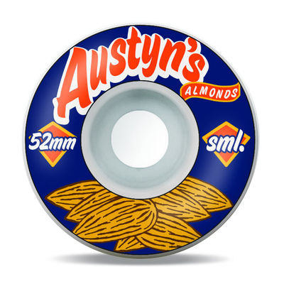Sml. Austyn Gillette Classics Series Austyn's Almonds 52mm OG Wide