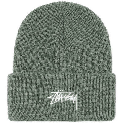 Stüssy Stock Ho 17 Cuff Beanie Light Green