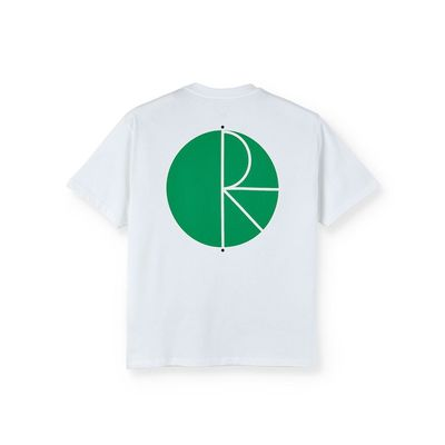 Polar Skate Co. Fill Logo Tee White/Green