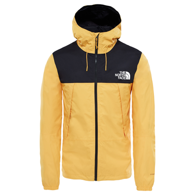 The North Face 1990 Mountain Q Jacket Black/ Yellow