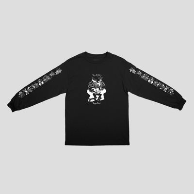 PassPort Coppers L/S Tee Black