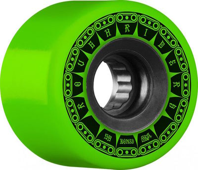 Bones Wheels ATF Rough Riders Tank 80a Green 59mm