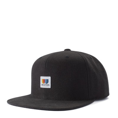 Brixton Alton MP Snap Back Black O/S