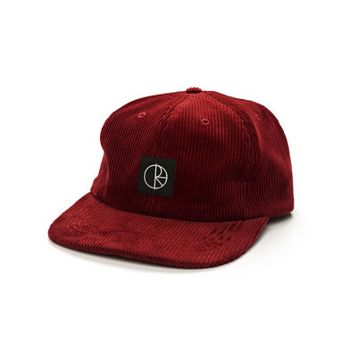 Polar Skate Co. Corduroy Cap Burgundy