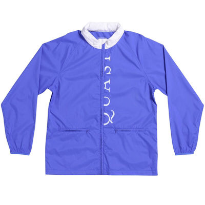 Quasi Verse Jacket Royal/White
