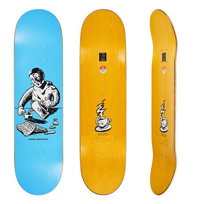 "Polar Skate Co. 8,125"" Aaron Herrington Breakfast Blue"
