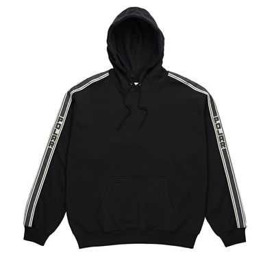 Polar Skate Co. Tape Hoodie Black