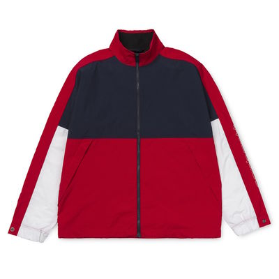 Carhartt WIP Terrace Jacket Dark Navy/ Cardinal/ White