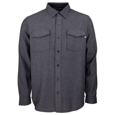 Independent Chainsaw Shirt Dark Heather