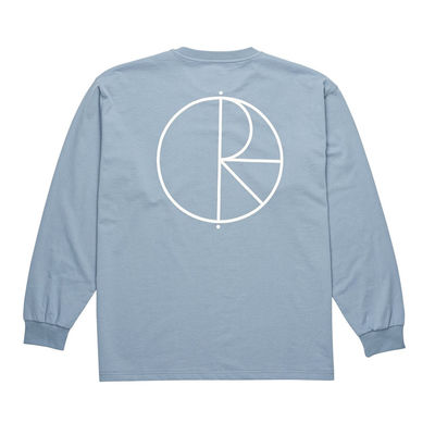 Polar Skate Co. Stroke Logo LS Captains Blue
