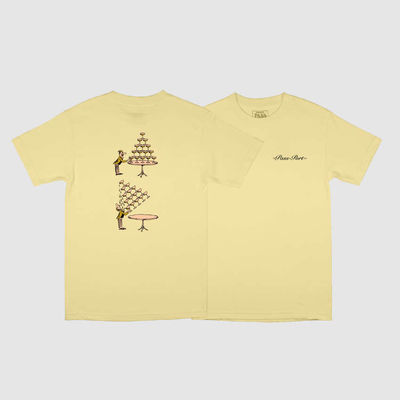 PassPort Champers Tee Banana
