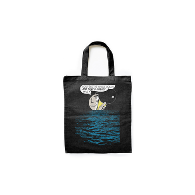 Makia Ocean Life Tote Bag Black