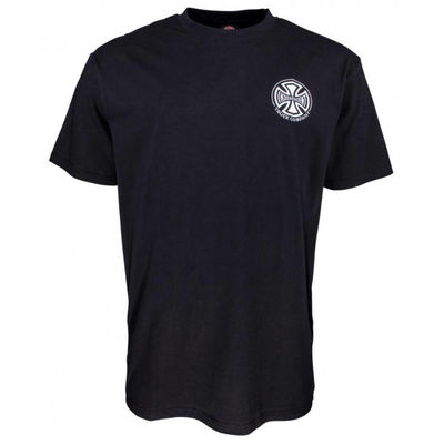 Independent T/C Embroidery T-Shirt Black