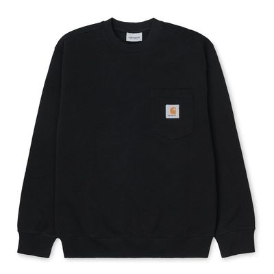 Carhartt WIP Pocket Sweatshirt Black