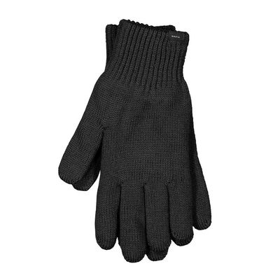 Makia Wool Gloves Black