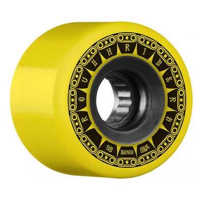 Bones Wheels ATF Rough Riders Tank 80a Yellow 59mm
