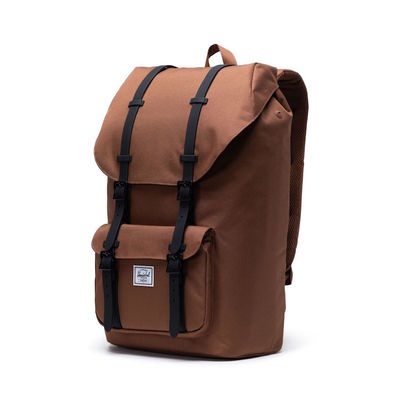 Herschel Little America Saddle Brown/ Black