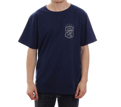 Asenne Surf Line Tee Navy Blue