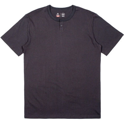 Brixton Berkeley SS Henley Washed Black